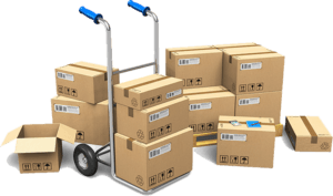 Boxes With Crate
