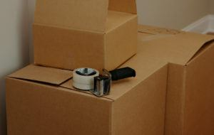 Boxes With Packing Tape